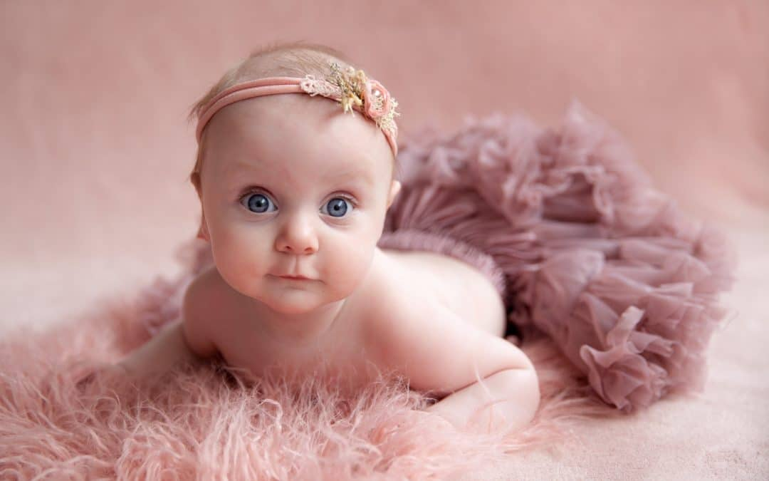 babyfotografie van Milene bezemer