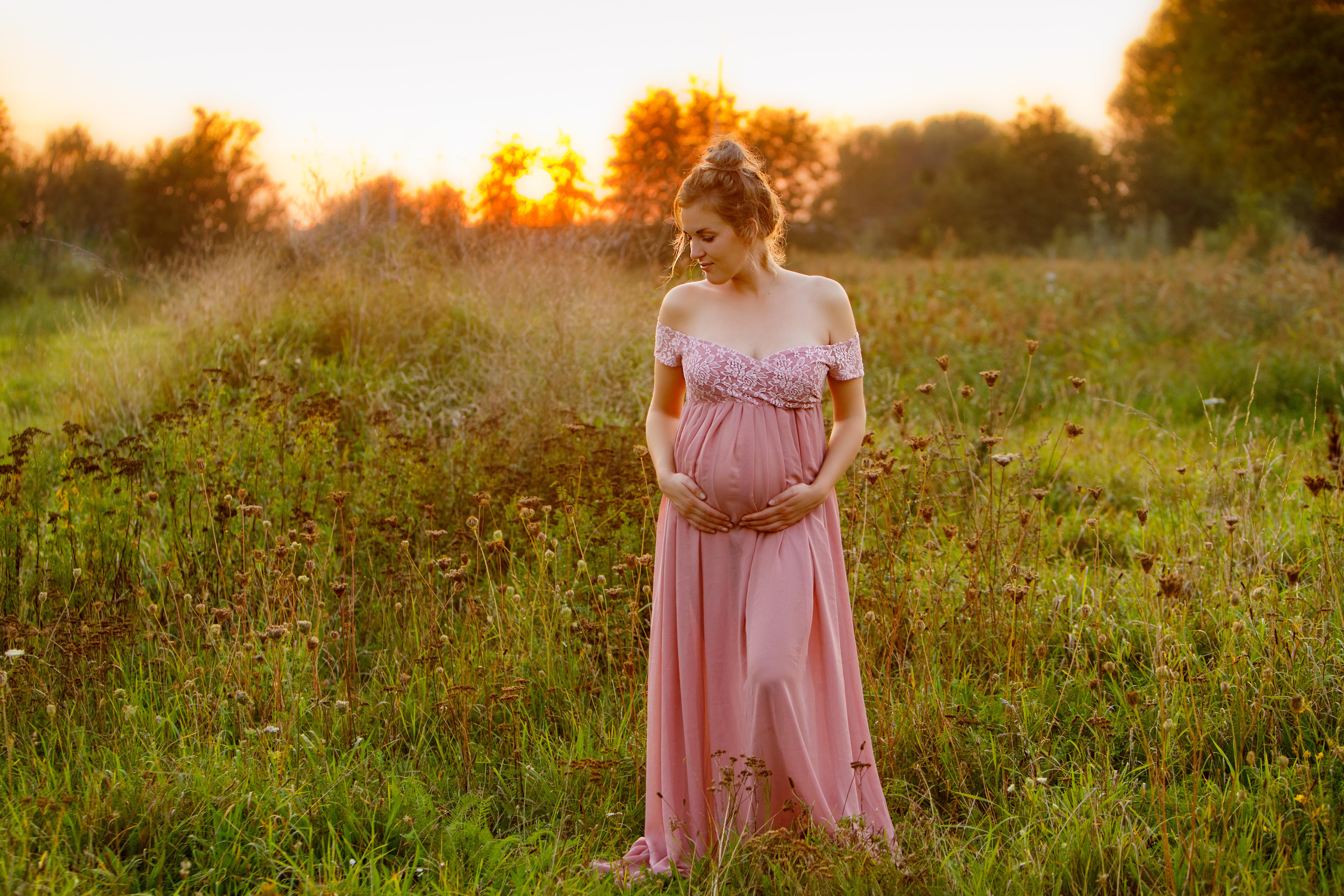 zwanger golden hour